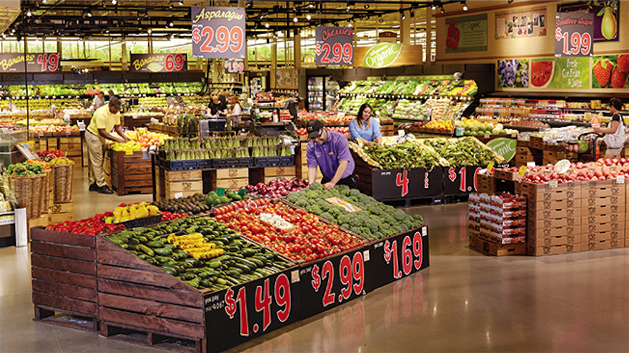 Figure 2: Groceries are not always as local as we'd like (Source: www.wegmans.com)