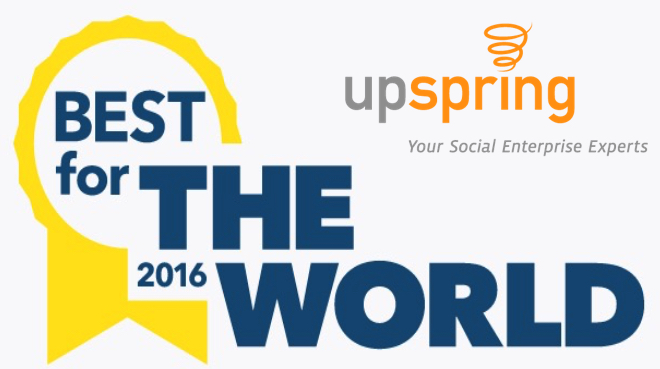 UpSpring Best for the World